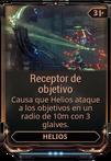 Receptor de objetivo