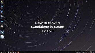 Warframe, Converting standalone to steam version Without Downloading