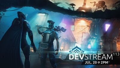 Devstream 113 banner
