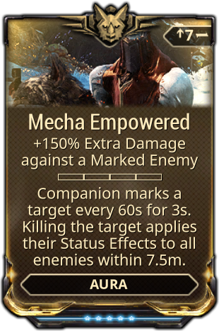 Mecha Empowered Warframe Wiki Fandom Powered By Wikia