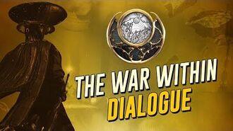 The War Within Cutscenes & Dialogue! Sun Light (The Warframe Story)