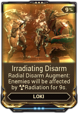 Irradiating Disarm Warframe Wiki Fandom Powered By Wikia