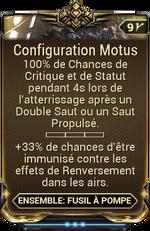 Configuration Motus