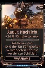 Augur-Nachricht