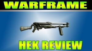 Warframe HEK Review Gameplay (Hand Canon)