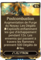 Postcombustion