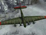 Tupolev bomber