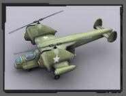 WF PRender Helicopter