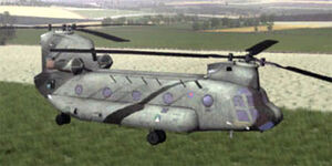 CH-47C Super Chinook ingame