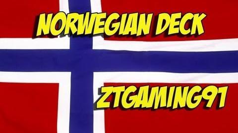 Wargame Airland Battle - Norwegian Deck (Vikings not included)