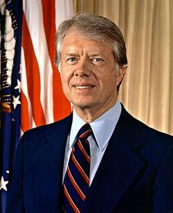 Portrait Jimmy Carter