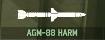 WRD Icon AGM-88 HARM