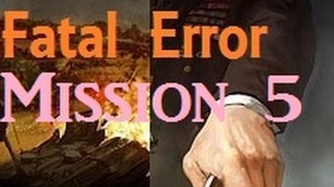 Wargame European Escalation Fatal Error Campaign -- Mission 5 Escalation