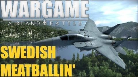 Wargame AirLand Battle BETA! - Swedish Meatballin'