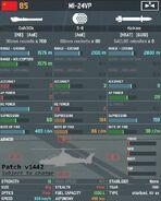 Mi-24VP Stats