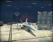 WAB CF-18 armory