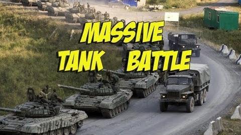 Wargame Airland Battle - Massive tank fight