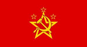 Flag Warsaw Pact Custom