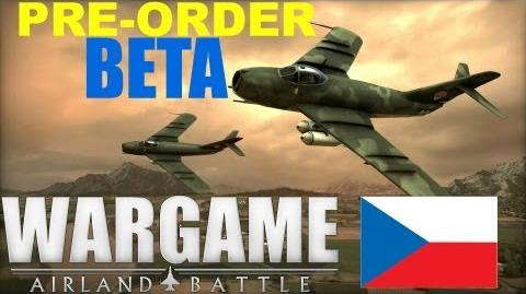 Wargame AirLand Battle BETA! - Czechoslovakian Gameplay