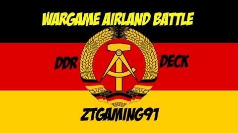 Wargame Airland Battle - East German Deck
