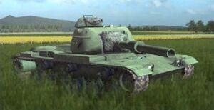 Ingame M60A1AOS