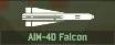 WRD Icon AIM-4D Falcon