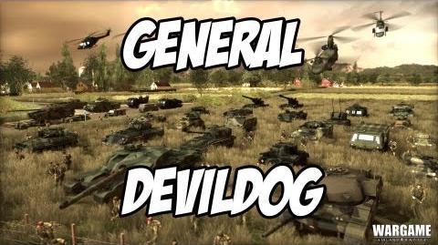 Wargame AirLand Battle - General DevilDog