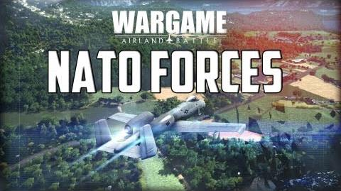 Wargame Airland Battle - NATO Forces