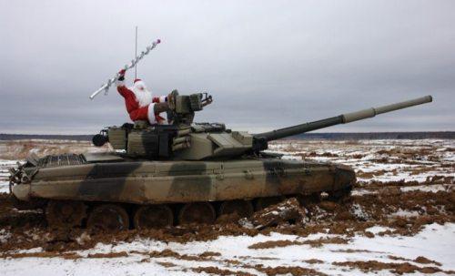 FunnyRussians Santa Tank