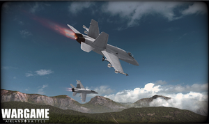 CF-18 Hornet screenshot 1
