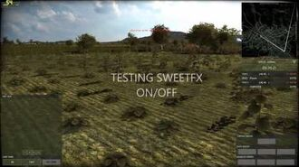 SWEETFX enabled in - Wargame Red Dragon - running on Windows 8.1 Improved graphics mod