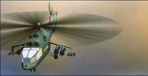 Mi-24A ingame