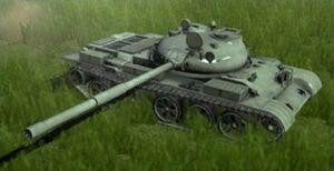 T-62 ingame