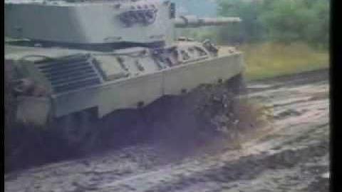 Leopard 1 medium tank
