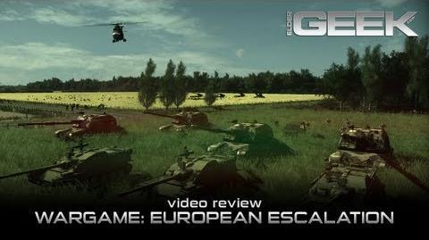 Wargame European Escalation Video Review