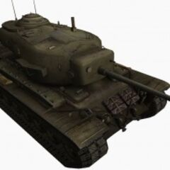 A front right view of a T29