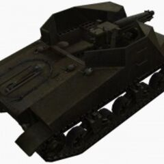 A rear right view of a T40