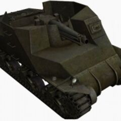 A front right view of a T40