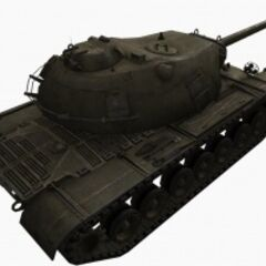 A rear right view of a M103