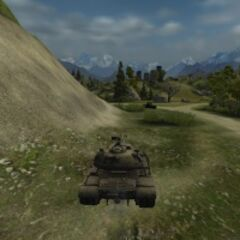 A view of a M103 on the Mountain Pass map