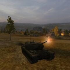 A view of a T29 on the Karelia map