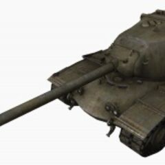 A front left view of a M103