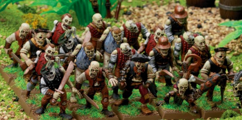 Zombie Pirate Deckhands Mob | Warhammer Fantasy Battle Wiki | FANDOM