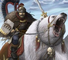 Kislev bear rider