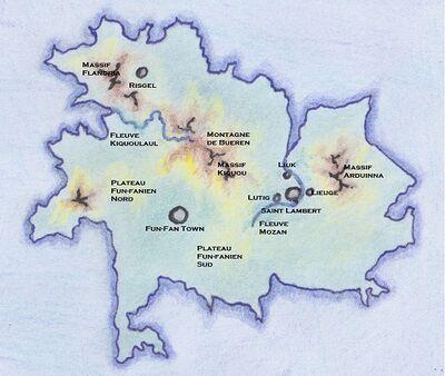 Sulphona Prime Géographie annotée