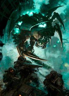 Canoptek Wraith (2)