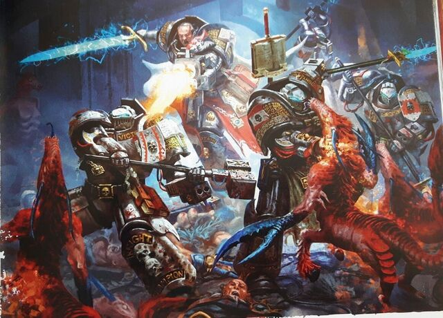 File:Grey Knights vs Khorne Bloodthirsters.jpeg