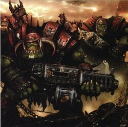 Azgar's Damagers - Ork Kommandos