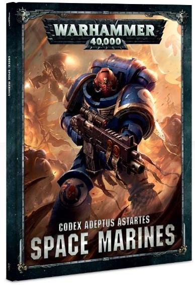 2004 - Warhammer 40K Excellent Codex Space Marines