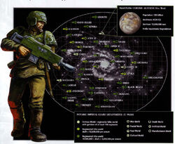 Imperial guard planets